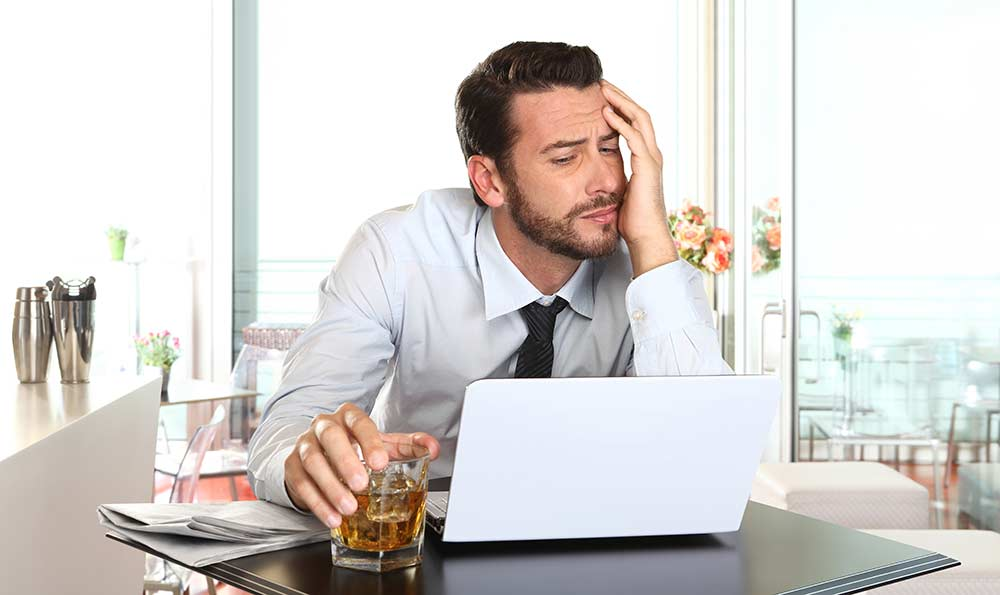 Stressed staff turn to 'unhealthy' coping mechanisms over ...